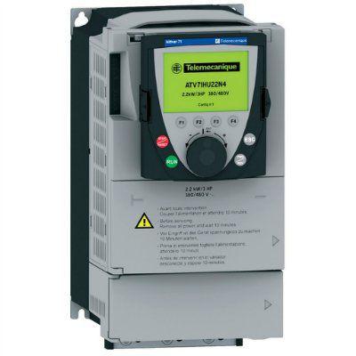 Преобразователь частоты Altivar 71 1.5кВт, 240B, б/терм | арт. ATV71HU15M3Z | Schneider Electric