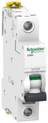 Модульный автоматический выключатель Acti 9 iC60H 1 полюс, 40A, характеристика B | арт. A9F88140 | Schneider Electric