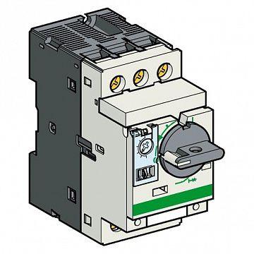 Силовой автомат для защиты электродвигателя TeSys GV2 2.5А 3P |  код. GV2P07AE11TQ |  Schneider Electric