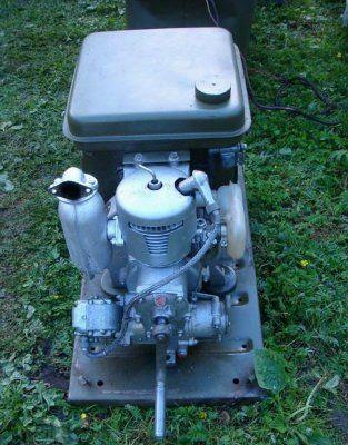 Генератор  бензиновый 1кВт. АБ1- П30В