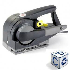 Zapak электрическая машинка для стяжки ПП лентой. Модель ZP20.