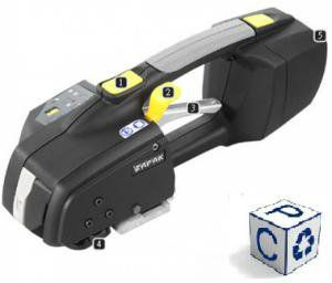 Zapak мобильное автоматическое устройство для обвязки ПП и ПЭТ лентами. Модель Zp92a