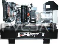 генератор дизельный АДА 27-Т400 РЯ Производитель-Вепрь™. Страна-Россия. Мощность-27 кВА. Напряжение- 400В. Пуск-элекро. Исполнение-на раме/Евро кожух