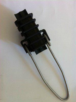 Зажим натяжной для электрических и телефонных кабелей (клиновой зажим) на ввод 0.4 кВ.