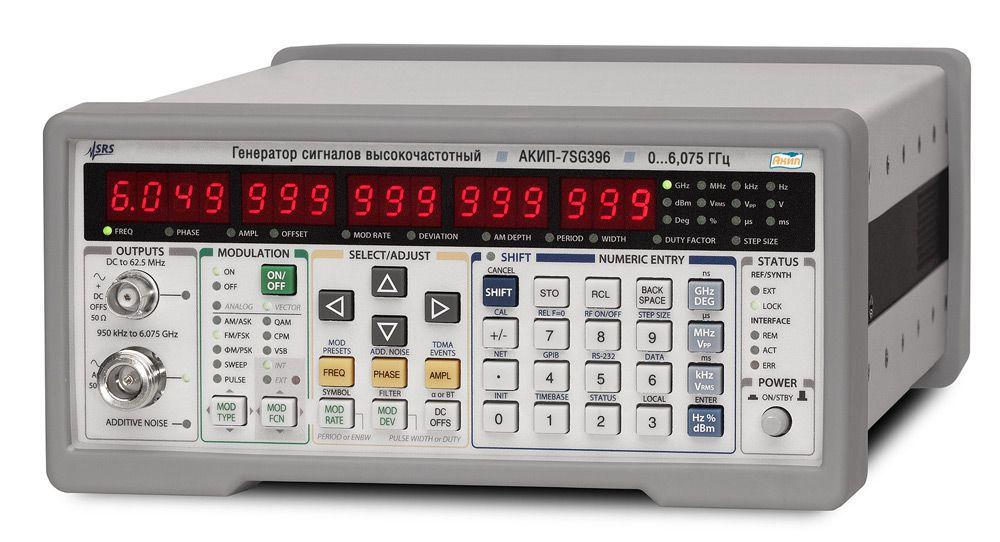 Генератор ВЧ сигналов векторный АКИП-7SG392