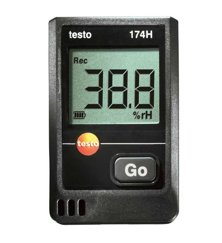 Измеритель температуры и влажности testo 174H