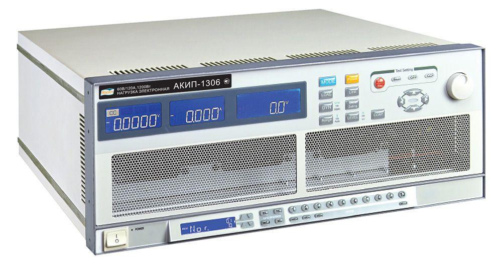 Нагрузка электронная АКИП-1306