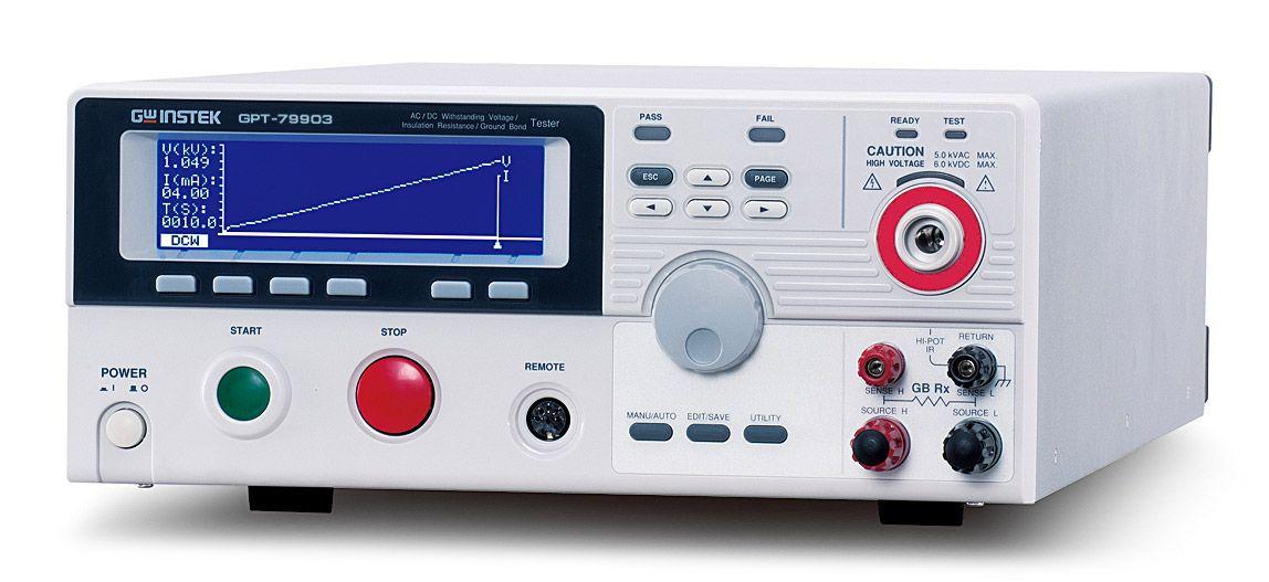 Установка для проверки параметров электрической безопасности GPT-79904