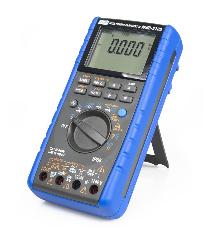 Мультиметр-калибратор АКИП-2202