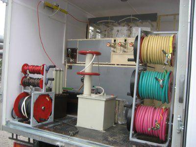 ЭТЛ-35К Комбинированная электротехническая подстанционно-кабельная лаборатория ЭТЛ-35К
