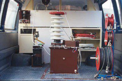 Лаборатория высоковольтный испытаний передвижная ЭТЛ-35