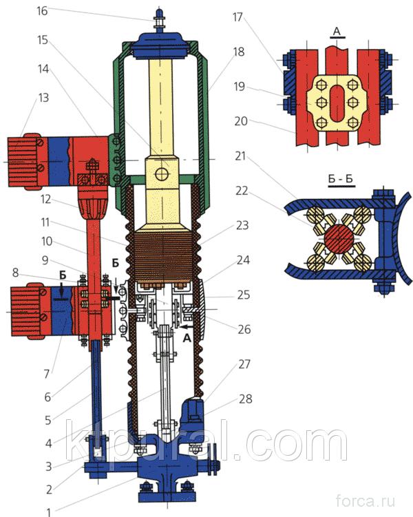 Выключатель ВК-М-10-1600-20