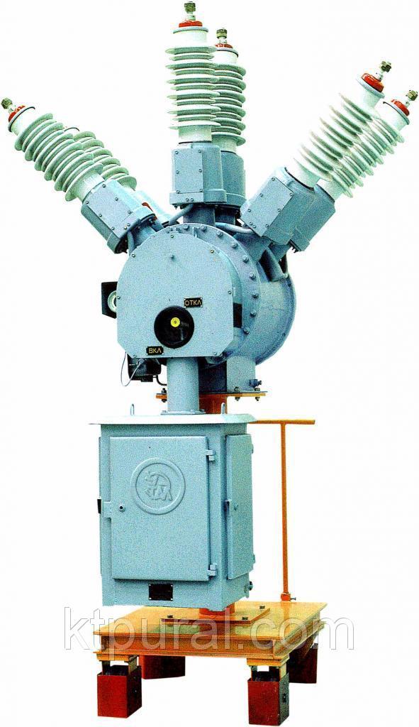 Выключатель элегазовый ВГБ-35