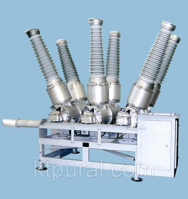 Элегазовый выключатель ВЭБ-110 УХЛ1