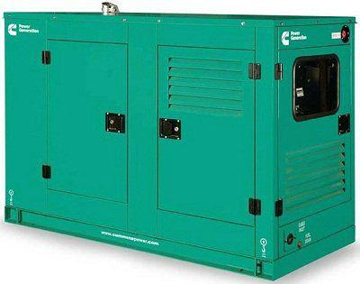 Дизельный генератор Cummins C110D5 в кожухе