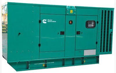 Дизельный генератор Cummins C200D5е в кожухе