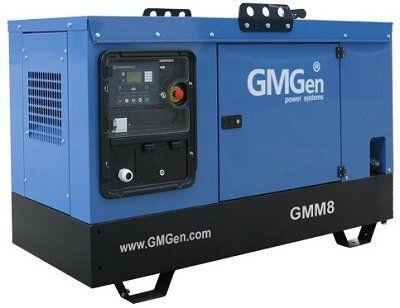 Дизельная электростанция GMGen GMM8S