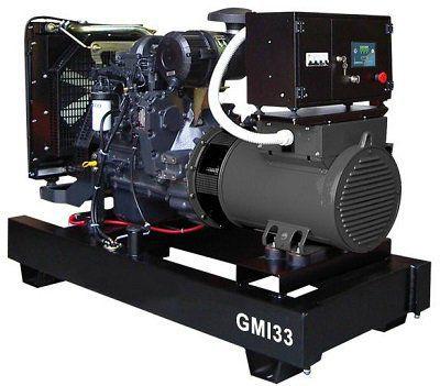 Дизель генератор GMGen GMI33
