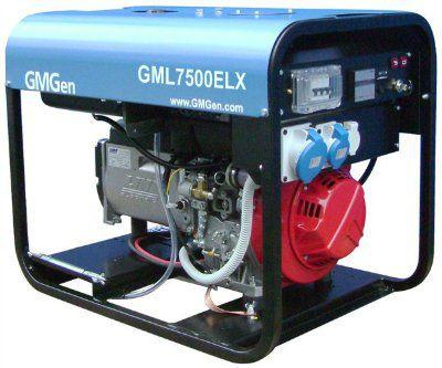 Дизель-генератор GMGen GML7500ELX