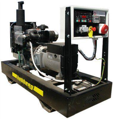 Дизельный генератор Hobberg на двигателе IVECO модель HI 44A
