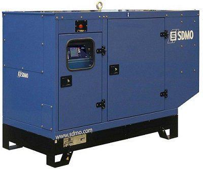 Дизельная электростанция SDMO Montana J77K-IV