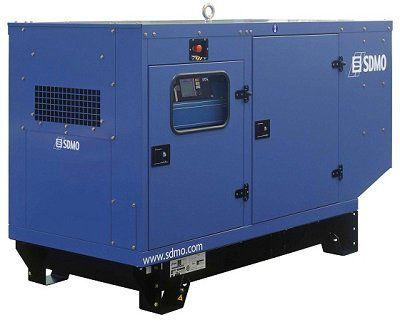 Дизельная электростанция SDMO Montana J110K-IV