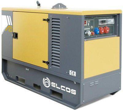 Дизель генератор ELCOS GE.YA.011/010.SS