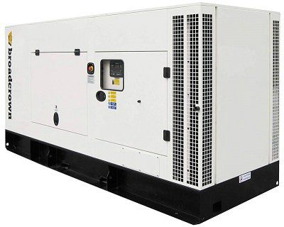 Дизельный генератор Broadcrown ACBCC 275-50 в кожухе (Англия)