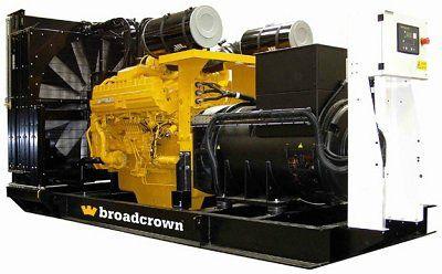 Дизельный генератор Broadcrown BCC 1660-50 (Англия)