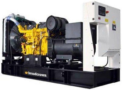 Дизельный генератор Broadcrown BCC 400-50 (Англия)