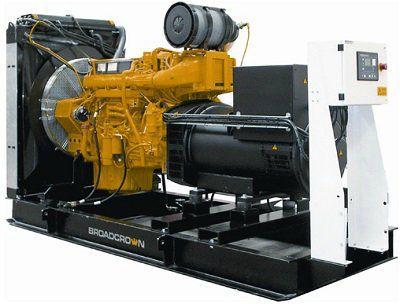 Дизель генератор Broadcrown BCV 360-50 (Англия)