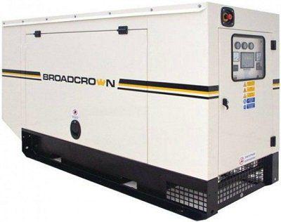 Дизельная электростанция Broadcrown ACBCJD 130-50 в кожухе (Англия)