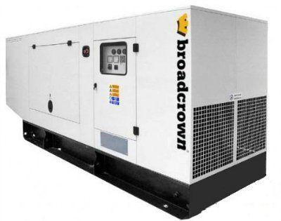 Дизель генератор Broadcrown ACBCV 275-50 в кожухе (Англия)