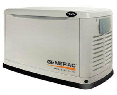 Генератор с воздушным охлаждением Generac 17 кВт (с встроенным автоматическим самотестированием) 5523