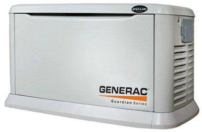 Генератор с воздушным охлаждением Generac 20 кВт (с встроенным автоматическим самотестированием) 5525