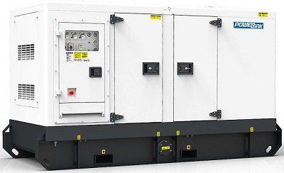Дизель генератор PowerLink в шумозащитном кожухе WPS 100S