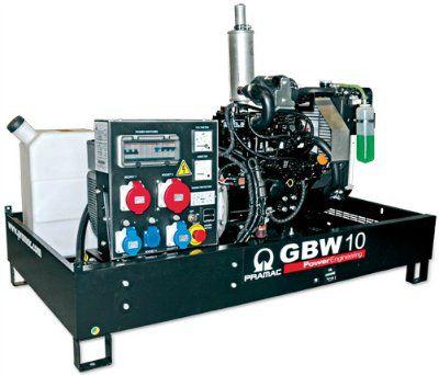 Дизель-генераторная установка PRAMAC GBW 10Y 230V