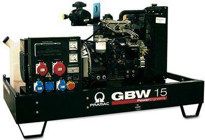 Дизель-генераторная установка PRAMAC GBW 15P 400V