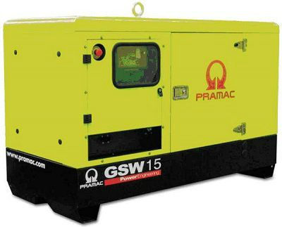 Дизель-генераторная установка PRAMAC GSW15P 400V в кожухе