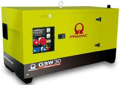 Дизель-генераторная установка PRAMAC GSW30P в кожухе