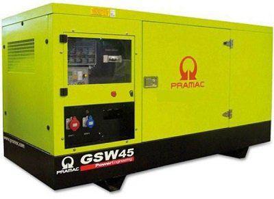 Дизель-генераторная установка PRAMAC GSW65P в кожухе