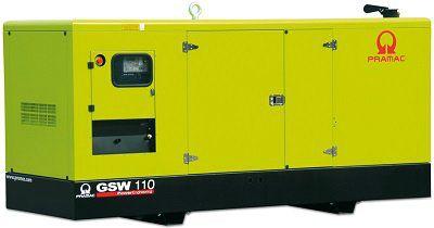 Дизель-генераторная установка PRAMAC GSW110P в кожухе