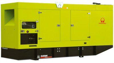 Дизель-генераторная установка PRAMAC GSW150P в кожухе