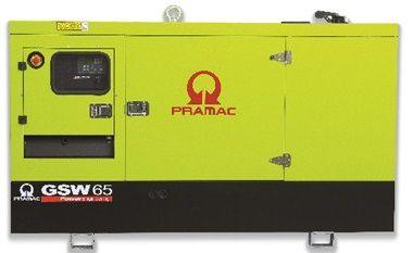 Дизель-генераторная установка PRAMAC GSW65I в кожухе