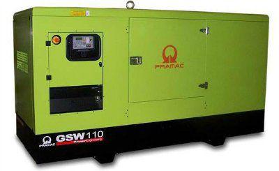 Дизель-генераторная установка PRAMAC GSW110V в кожухе