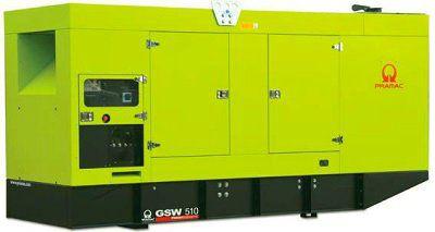 Дизель-генераторная установка PRAMAC GSW510V в кожухе