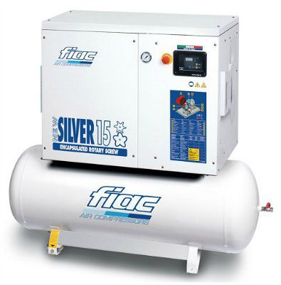 Винтовой компрессор FIAC NEW SILVER 15/300 (8 БАР)