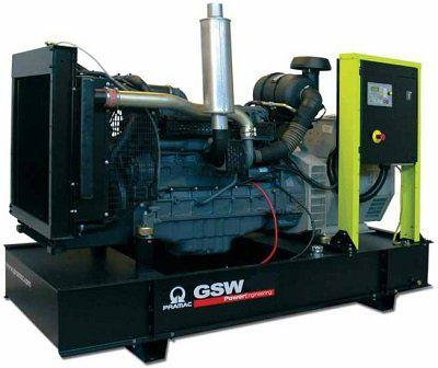 Дизель-генераторная установка PRAMAC GSW170V