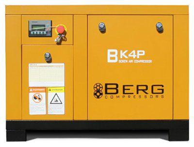 Винтовой компрессор BERG ВК-4Р с ременным приводом