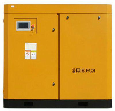 Винтовой компрессор BERG BK-45P с ременным приводом